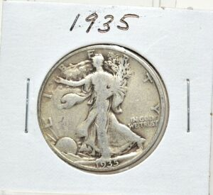1935 SILVER WALKING LIBERTY HALF DOLLAR