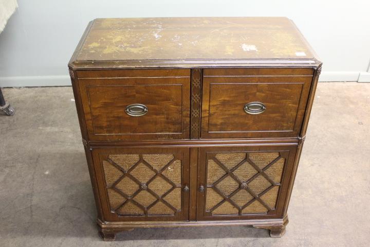 Lot 2609 of 832: Antique Stromberg Carlson Radio/Record Player In Cabinet - Antique Stromberg Carlson Radio/Record Player In Cabinet