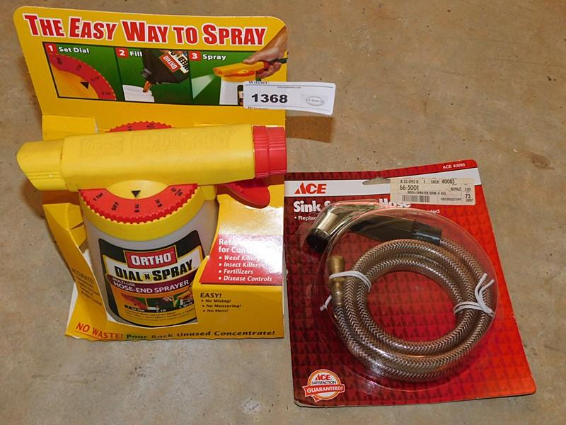 Ortho Dial N Spray Multi Use Hose End Sprayer And A Sink Gar Cur Price 7 5