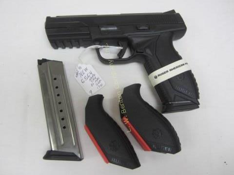RUGER AMERICAN 860-25388 PISTOL 9mm Semi-auto - Stainless