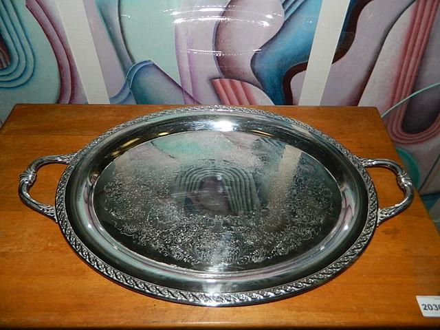 24 round silver plate serving tray marked rogers son spring lot 2047 of 467 24 round silver plate serving tray marked rogers son spring flower 2081 mightylinksfo