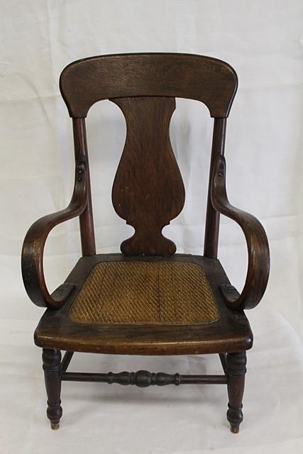 Lot 1527 of 485: ANTIQUE YOUTH CHAIR - ANTIQUE YOUTH CHAIR