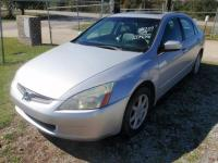 2004 Honda Accord Sedan EX V-6 V6, 3.0L