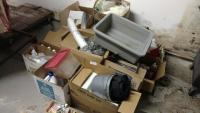 Misc Lot Of Paper Goods And Cleaning Supplies