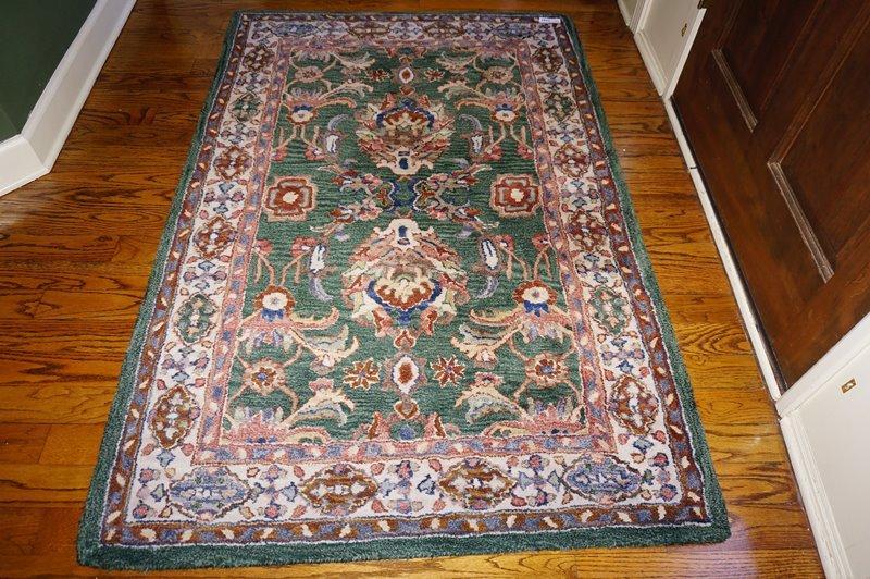 Lot 1023 Of 900 Pande Cameron New York Marrakesh Hand Woven Pure Wool Rug 3 5 X Fyr