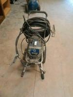 GRACO BRAND MAGNUM PRO X7 PAINT SPRAYER, TESTED DOES POWER UP