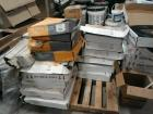 LARGE LOT OF APPROXIMATELY 20 BOXES RUBBER WALL BASE, 120 FT COIL, THERE IS 10 AND GRAY IN THIS LOT