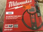MILWAUKEE M-SPECTOR 360 ROTATING INSPECTION SCOPE