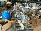 LARGE LOT OF MILITARY CLOTHING, TO INCLUDE BOOTS,