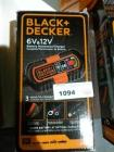 BLACK & DECKER 6 AND 12 VOLT BATTERY MAINTAINER
