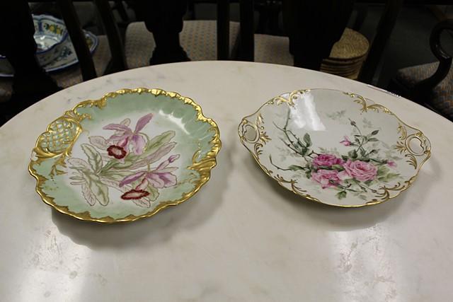Lot 13052 Antique Decorative Plates