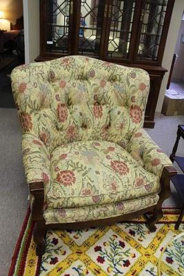 NICE OVERSIZED ARM CHAIR BY SHERRILL